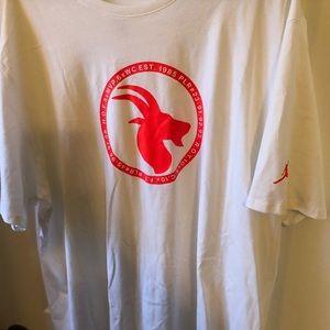 Jordon G.O.A.T. T-shirt Infrared